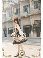 Thousands of Tsubaki Cranes Wa Lolita Shirt by CEL